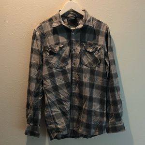 Tops - Plaid Buttondown